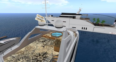 Grid Trekker I, Multi-level yacht, sleeps 6 passengers.