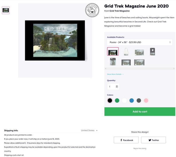 Teespring Ad for Grid Trek