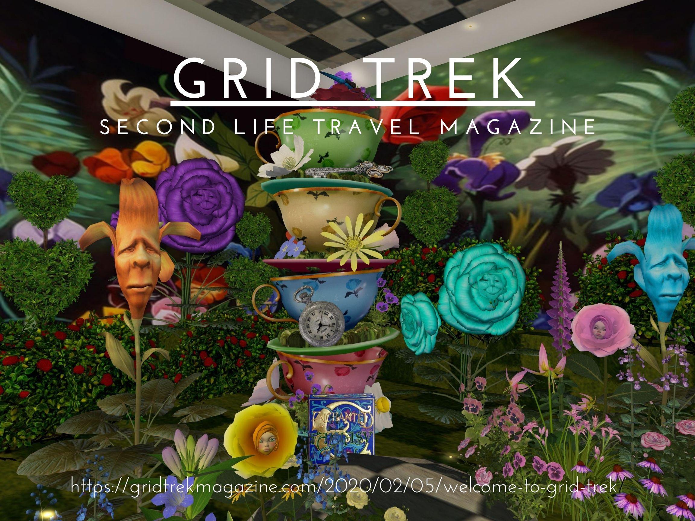 August Grid Trek Poster
