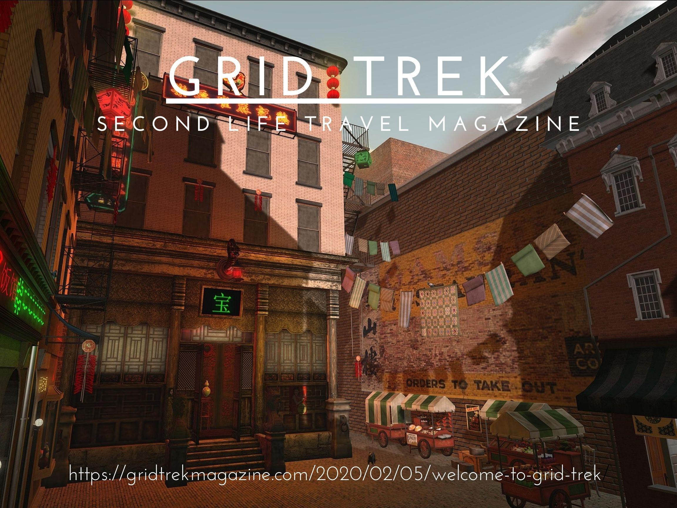 September Grid Trek Poster